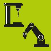 Macchine utensili/robotica